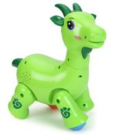 Skykidz Mitashi Dancing Pets Musical Goat Toy - Green
