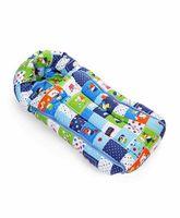 Babyhug Sleeping Bag Cute Squares - Blue