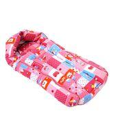 Babyhug Sleeping Bag Cute Squares - Pink