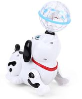 Smiles Creation Musical Dog Toy - Black White