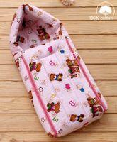 Babyhug Sleeping Bag Little Teddy - Pink