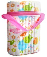 Morisons Baby Dreams Insulated Bottle Cover Double Bottle - Pink
