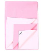 Quick Dry Bed Protector Mat Pink - Medium