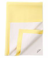 Quick Dry Bed Protector Mat Yellow - Medium