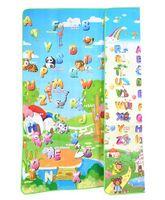Toys4fun Alphabet And Animal Baby Play Mat - Multicolour