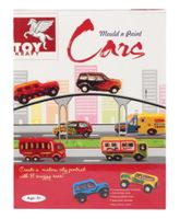 Toy Kraft - Mould n Paint Cars