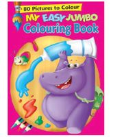 My Easy Jumbo Coloring Book - English