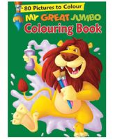 Pegasus My Great Jumbo Colouring Book - English