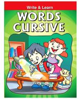 Pegasus Words Cursive Writing Book - English