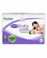 Himalaya Herbal Total Care Baby Pants Style Diapers Small - 54 Pieces