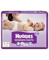 Huggies Wonder Pants Small Size Pant Style Diapers - 48 Pieces
