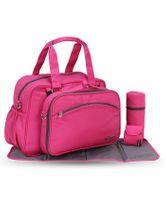 My Milestones Diaper Bag Duo Detach - Pink
