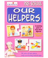 Creative's –  Our Helpers  Match Ups Puzzle
