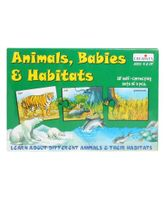 Animals, Babies & Habitats