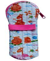 Morisons Baby Dreams Feeding Bottle Cover 125 ml - Pink