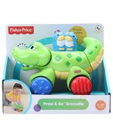 Fisher Price -  Press And Go Crocodile Toy