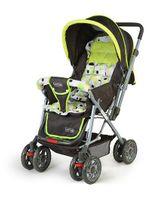 Luv Lap Sunshine Baby Stroller Cum Pram Light Green - 18103