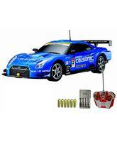 Auldey - Nissan GT R Blue Toy Car