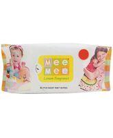 Mee Mee Baby Wet Wipes Lemon Fragrance - 80 Pieces
