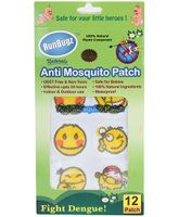 RunBugz Mosquito Repellent Patch Smiley - Pack Of 12