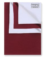 Babyhug Smart Dry Bed Protecting Sheet Maroon - Large