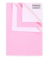 Babyhug Smart Dry Bed Protector Sheet Pink - Medium