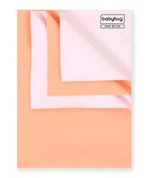Babyhug Smart Dry Bed Protecting Sheet Peach - Medium