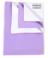 Babyhug Smart Dry Bed Protecting Sheet Lilac - Medium