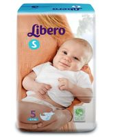 Libero Baby Diaper Small - 5 Pieces