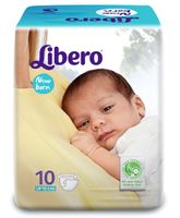 Libero Baby Diaper New Born - 10 Pieces