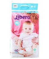 Libero Baby Diaper Medium - 40 Pieces