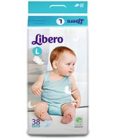 Libero Baby Diaper Large - 38 Pieces