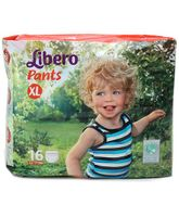 Libero Pant Style Baby Diaper Extra Large - 16 Pieces