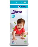 Libero Baby Diaper Extra Large - 36 Pieces