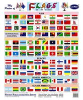 NavNeet My Poster Of Flags Of The World - English