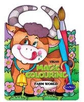 NavNeet Vikas Magic Colouring Farm World - English