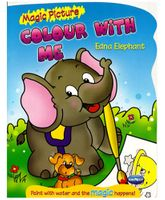 NavNeet Magic Picture Colour With Me Edna Elephant - English