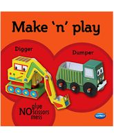NavNeet Make N Play Digger and Dumper