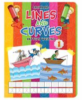 Dreamland Lines And Curves Pattern Writing Part 1 - English