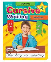 Dreamland Cursive Writing Sentences Part 4 - English