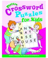 Shree Book Centre Picture Crossword Puzzles For Kids - Pink
