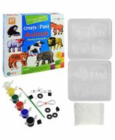Ekta Create And Paint Animal Moulding Kit - 5 Years Plus