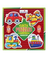 Creatives Early Puzzles Transport