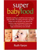 Pegasus Super Baby Food Book - English