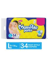 Mamy Poko Standard Pant Style Diapers Large - 34 Pieces