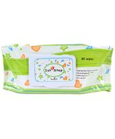 1st Step Baby Wipes - 80 Pieces