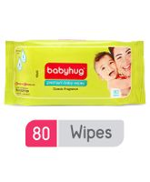 Babyhug Premium Baby Wipes - 80 Pieces