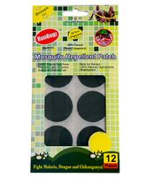 Runbugz Anti Mosquito Patches Plain Green - 12 Patches
