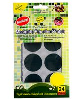 Runbugz Anti Mosquito Patches Plain Green - 24 Patches