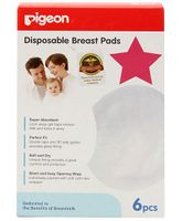 Pigeon Disposable Breast Pads 6 pieces